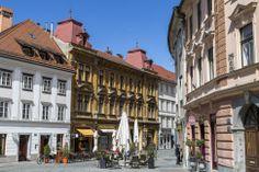 In Ljubljana Old Town (Stara Ljubljana) Baroque and Art Nouveau architecture combines with masterly creations by the 20th century architect Jože Plečnik.