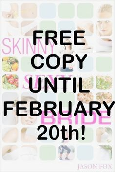Get your free copy of our book until 2/20. Best Seller and #1 on Amazon's Wedding List #fitness #workout #skinny #free #bride #giveaway #bride #wedding