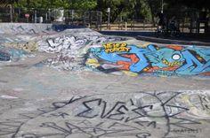 Santa Rosa Skatepark (California, USA) #skatepark #skate #skateboarding #skatinit #skateparkreview