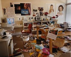 sofia coppola's office at vogue, los angeles, california • bruce weber