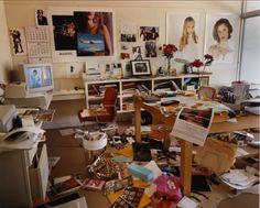 sofia coppola's office at vogue, los angeles, california • bruce weber