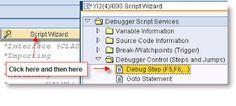 ABAP Debugger Scripting: Advanced