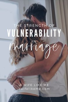 Aren't we supposed to be stronger? Isn't that the goal in marriage? It might be - but how we get there is important, and this might go against what you've been told. Vulnerability in marriage is the key to strength, and you'll be challenged in how vulnerability shows itself in marriage! #strongermarriage #bettermarriage #christianmarriage #marriage