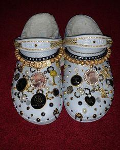 Crocs Slippers, Crocs Sandals, Women's Crocs, Crocs Shoes, Crocs Fashion, Fashion Shoes, Cool Crocs, Designer Crocs, Sneaker Heels