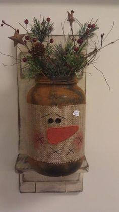 snowman jar wrap