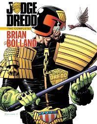 Image result for original comic art dredd brian