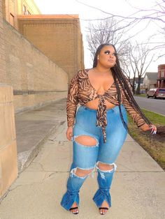 Thick Girls Outfits, Curvy Girl Outfits, Cute Casual Outfits, Stylish Outfits, Plus Size Outfits, Fashion Outfits, Chubby Fashion, Thick Girl Fashion, Plus Size Fashion For Women