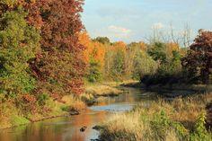 St, Joseph river, Hillsdale, Michigan