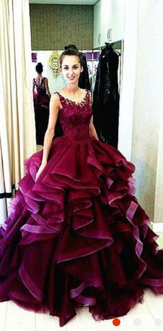 maroon prom dress, ball gown prom gown, lace prom dresses, womens prom dresses, dresses for women, prom dresses 2016, 2016 prom dresses, elegant prom dresses, high quality prom dresses