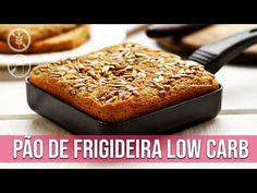 PÃO DE FRIGIDEIRA LOW CARB SEM GLÚTEN SEM LACTOSE - YouTube Lactose Free Diet, Sem Lactose, Pao Low Carb Facil, Dairy Free, Gluten Free, Cookie Do, Cookies Policy, Sin Gluten, Low Carb Keto
