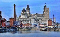 Liverpool, England - great-britain Wallpaper