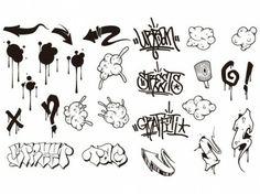 go media produced vector set15graffiti trend