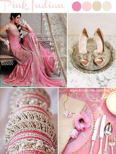 Indian and Chinese Wedding Inspiration; Pink, Red and Orange » KnotsVilla