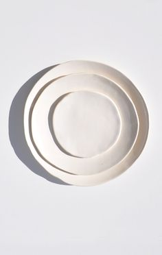 white porcelain | Akiko Graham & Porcelain Paper Plate | Porcelain Nest and Kitchens