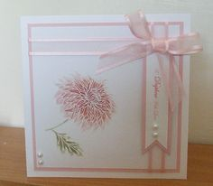 Blog tonic: Pick of the Bunch - Chrysanthemum Card