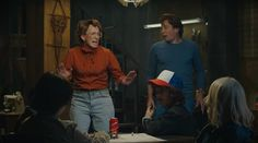 The Netflix series Stranger Things unceremoniously killed off Barb (Shannon Purser) but Jimmy Fallon revived the fan favorite on the Tonight Show. The skit features series stars Mike (Finn Wolfhard), Lucas (Caleb McLaughlin), Dustin (Gaten Matarazzo) and Eleven (Millie Bobby Brown) playing Dungeons and Dragons. They're interrupted by the resident bully Steve (Fallon) and Barb, portrayed by A. D. Miles, better known as the Ew dad…