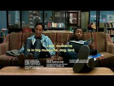 Troy & Abed's La Biblioteca spanish rap. Greatest thing I've ever heard. I want to listen to it over and over and OVER!