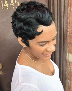 50 Best Short Hairstyles for Black Women in 2017 Check more at http://hairstylezz.com/50-best-short-hairstyles-black-women-2017/