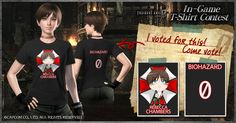 Voting complete - CAPCOM: Resident Evil 0 In-Game T-Shirt Contest