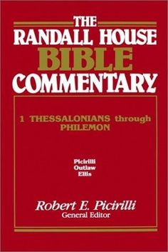 Thru the bible commentary galatians 46 products pinterest hardcover the randall house bible commentary 1 thessalonians through philemon fandeluxe Gallery