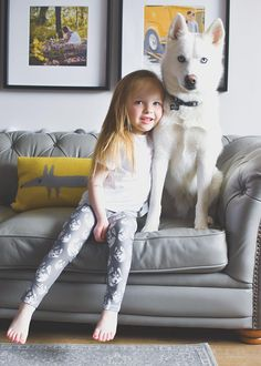 Kids Leggings With Husky Print, Husky Lover Gift, Toddler Niece Leggings, Personalised Girl Leggings Baby Leggings, Girls Leggings, Hipster Babies, Kids Prints, Baby Kids Clothes, Organic Baby, Your Dog, Husky, Dog Cat
