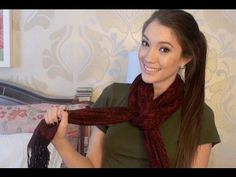 How To: Wear A Scarf DIY .