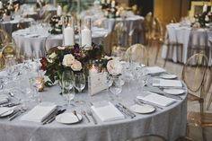 With its gorgeous architecture and airy rooms, the Royal Conservatory of Music was the perfect wedding venue for Hayley and Scott's big day. Vera Wang Gowns, Ghost Chairs, Buffet, Wedding Beauty, Rehearsal Dinners, Conservatory, Big Day, Tablescapes, Perfect Wedding