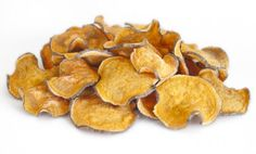 Healthy, Oil-Free, Six Minute Sweet Potato Chips
