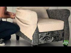 PASO A PASO fundas sofa asientos extensibles - YouTube