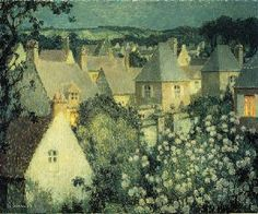 Henri Le Sidaner  - Small Village: Gerberoy