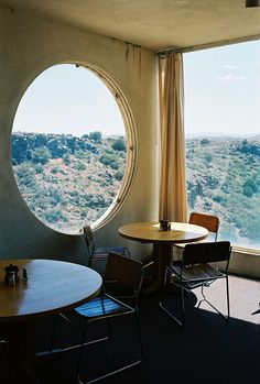Amazing windows, great view.