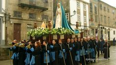 2013 Easter Procession of the Christ Resurrection in Santiago de Compostela