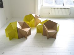 Resultado de imagem para mix furniture cardboard with furniture