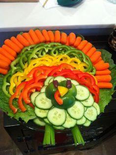 14 magnifiques plateaux de légumes, super faciles à monter pour Noël! - Cuisine - Des trucs et des astuces pour vous faciliter la vie dans la cuisine - Trucs et Bricolages - Fallait y penser !:
