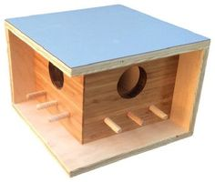 Mid-Century Modern Birdhouse - Contemporary - Birdhouses - by Sourgrass