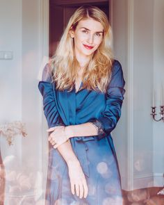 szlafroczek-nn-2 Dresses With Sleeves, Long Sleeve, Fashion, Moda, Sleeve Dresses, Long Dress Patterns, Fashion Styles, Gowns With Sleeves, Fashion Illustrations