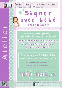 Escapages: Signer avec bébé à la Bibliothèque communale de Libramont-Chevigny