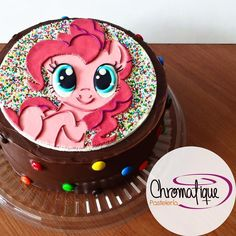 My Little Pony cake (Torta de Mi Pequeño Pony) https://www.facebook.com/ChromatiquePasteleria/