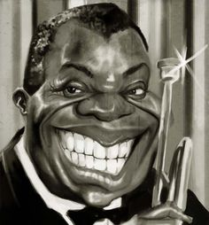 Louis Armstrong by ~Parpa