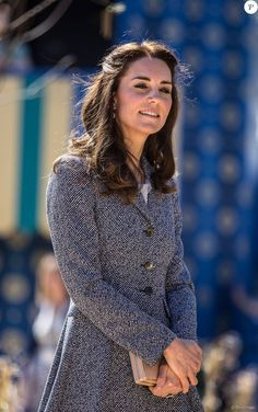 Kate Middleton inaugure le Magic Garden au palais Hampton Court à Londres. Le 4 mai 2016