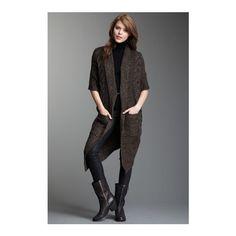 Romeo & Juliet Couture Short Sleeve Wrap on HauteLook via Polyvore