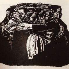 Käthe Kollwitz, The Mothers, 1922-23