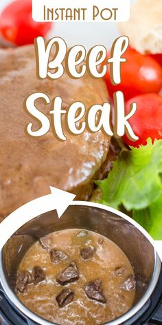 Beef steak is not always the easiest dish, but if you use an Instant Pot things get a lot easier.      The pressure cooker is specially designed to speed up the process and deliver a nicely cooked and juicy steak recipe that will make everyone think a well-known chef prepared it!