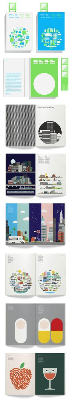 love the colors and modern aesthetic. The illustrations could be fun, too. M.S.