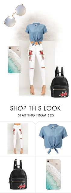 """Senza titolo #120"" by mariapizzuto on Polyvore featuring moda, WearAll, Miss Selfridge, Gray Malin e Ray-Ban"