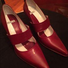 Classic furla Fur and material Furla Shoes Heels