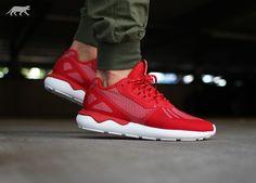 Adidas Tubular Runner Weave Red