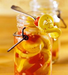 Sweet squash pickles Recipe from  These sweet-sour refrigerator pickles are bursting with flavor. Try them solo or on a sandwich.