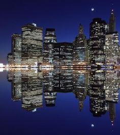 New York At Night #newyork, #cities, #travel