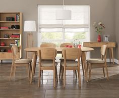 Orbit Oak Retro Dining Table and Chairs, £660